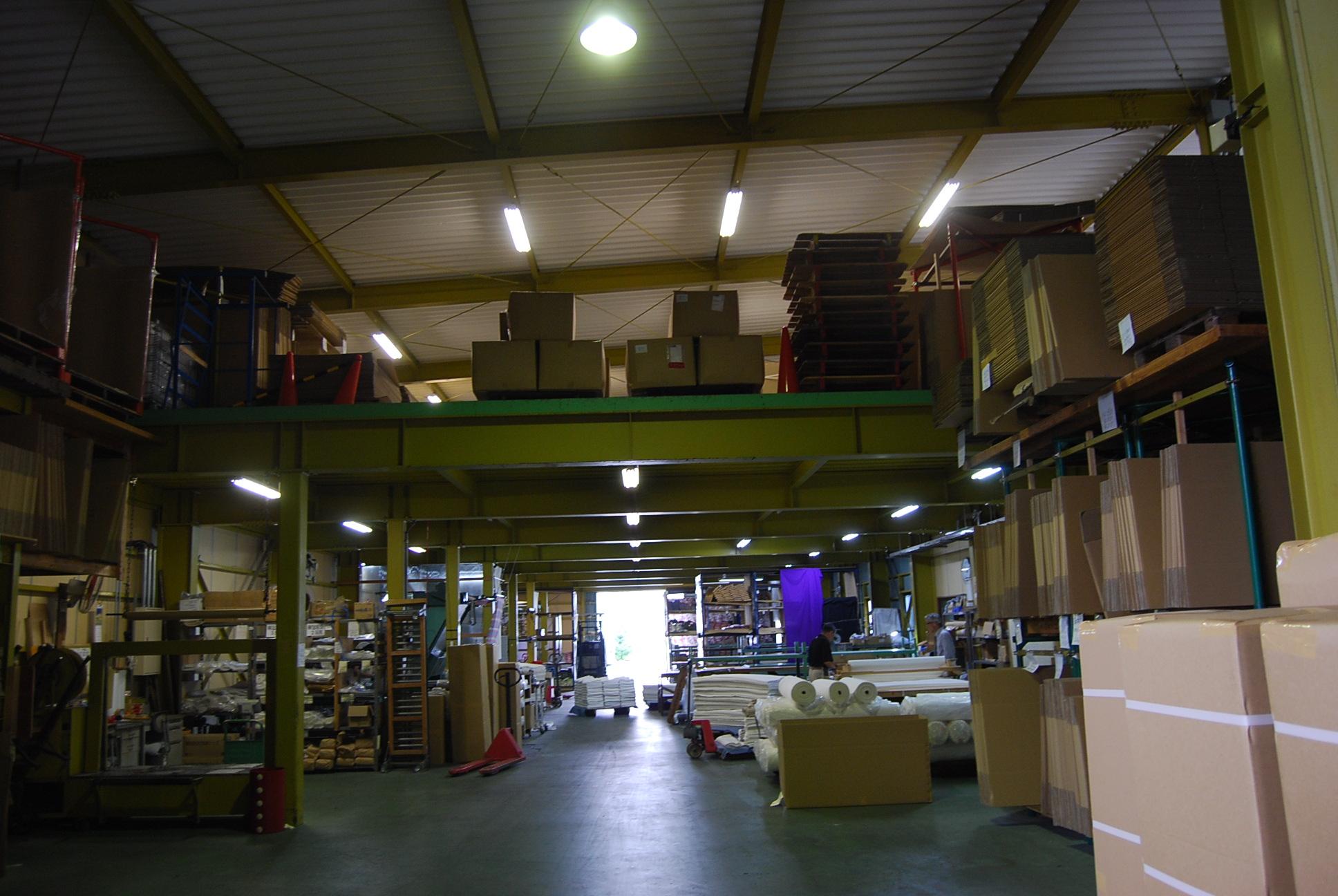 設備・倉庫のご紹介のイメージ